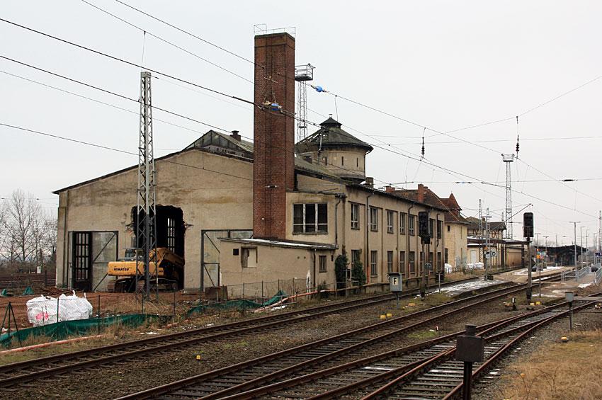 Als die Eisenbahnwelt in Bad Kleinen scheinbar noch in Ordnung war